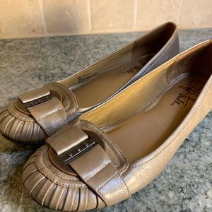 Life stride Margot Flats With Buckle vegan leather